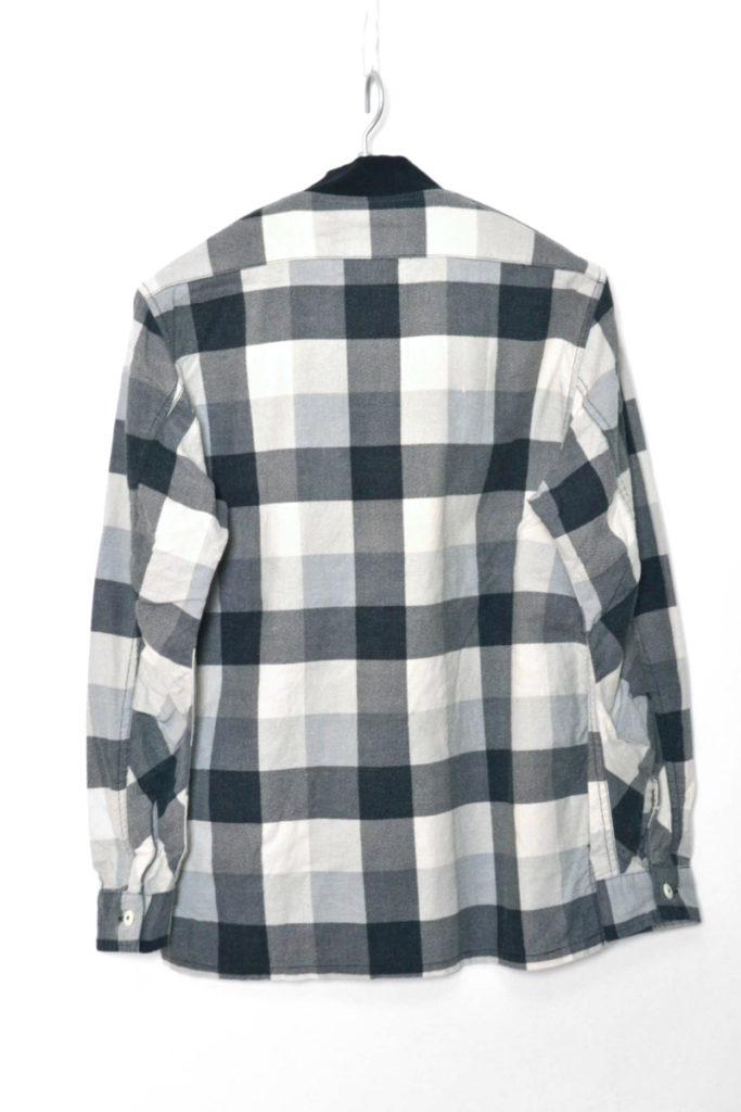 2017SS/ TRAINER SHIRT COTTON NEL BLOCK CHECK PRINT フランネル トレーナーシャツの買取実績画像