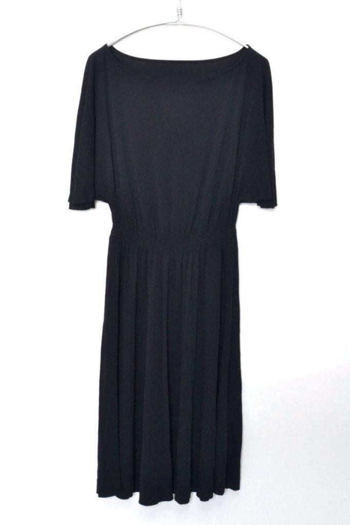 80s REPLICA 'Batwing' sleeved dress バットウイングスリーブ ドレス ワンピース