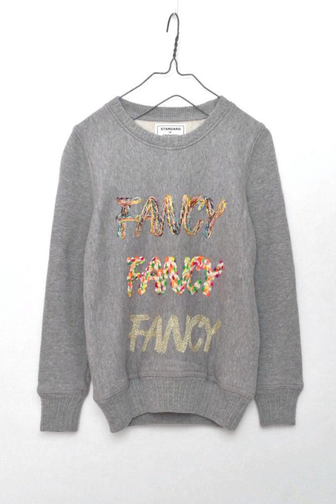SWEAT P/O FANCY 刺繍スウェット プルオーバー