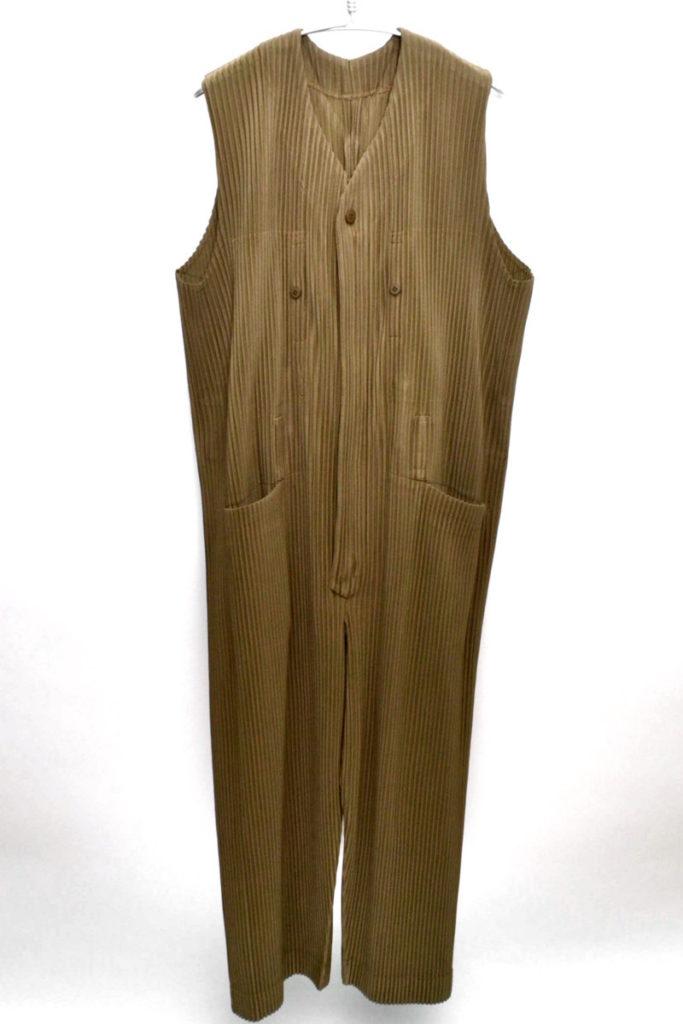 プリーツオールインワン ジャンプスーツ