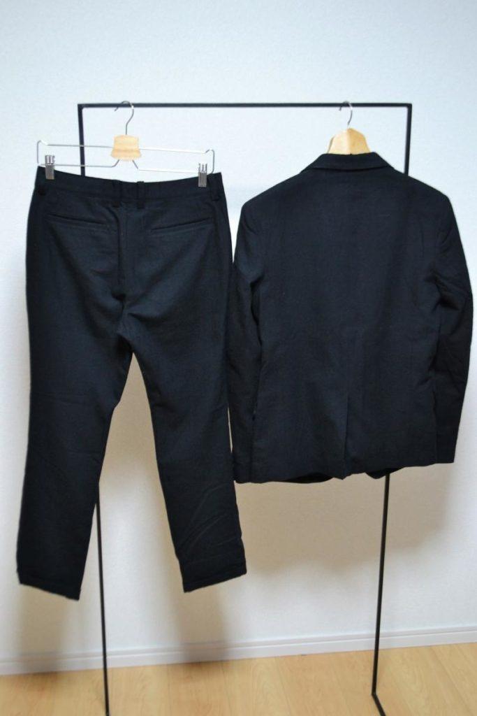 C/W GABARDINE 2B JACKET SET UP ギャバジン素材 スーツ セットアップの買取実績画像