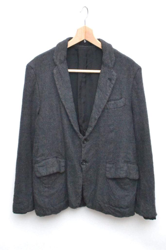 AD2007/ フランネルウール縮絨 テーラードジャケット