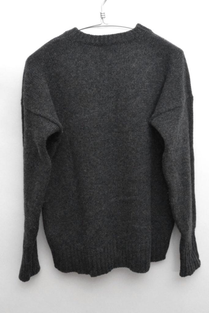 アイルランド製 ウールクルーネックニット セーターの買取実績画像