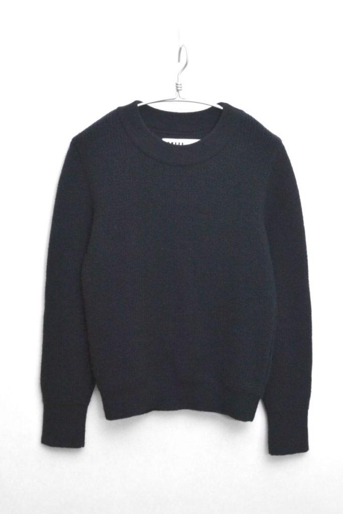 リトアニア製 ウール 畦編みニット セーター
