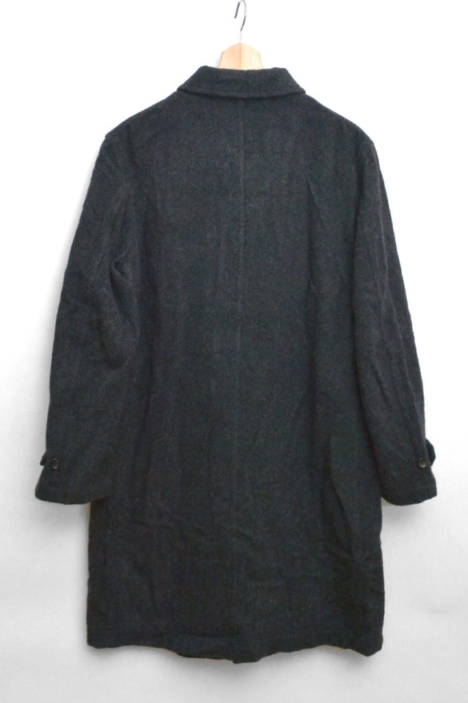 ウール縮絨 ステンカラーコートの買取実績画像