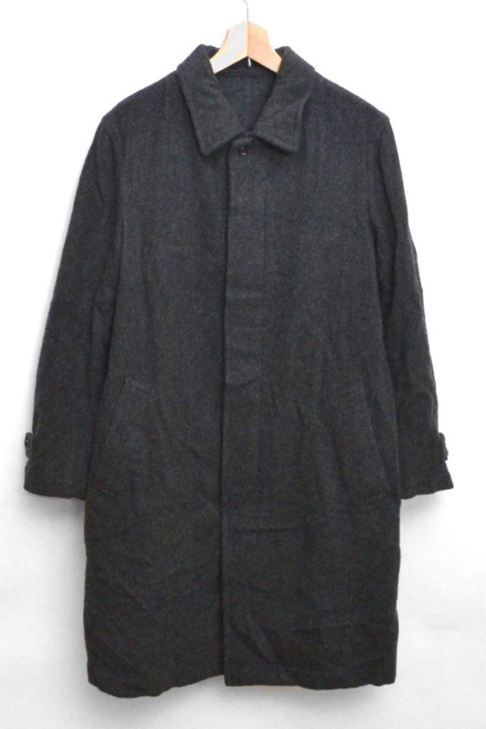 ウール縮絨 ステンカラーコート