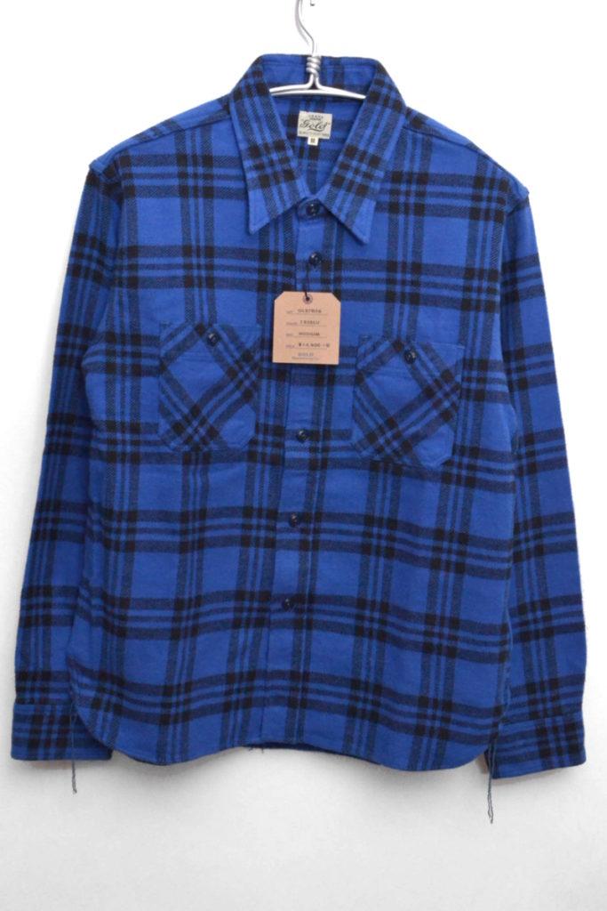 TWILL CHECK WORK SHIRT チェック フランネルワークシャツ