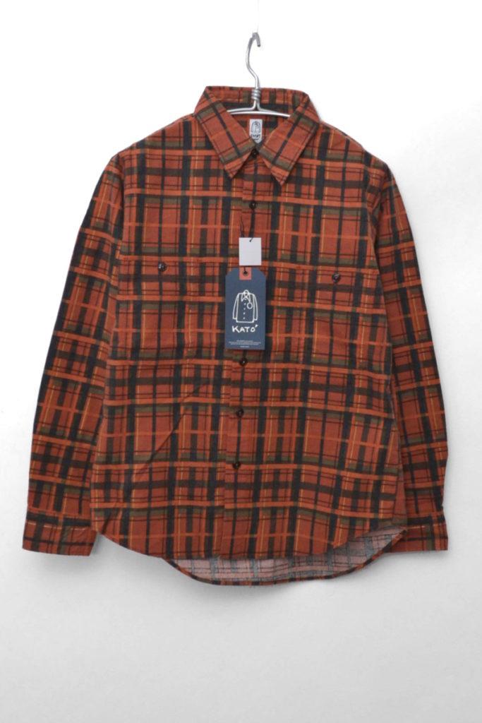 ベーシックワークシャツ フランネル
