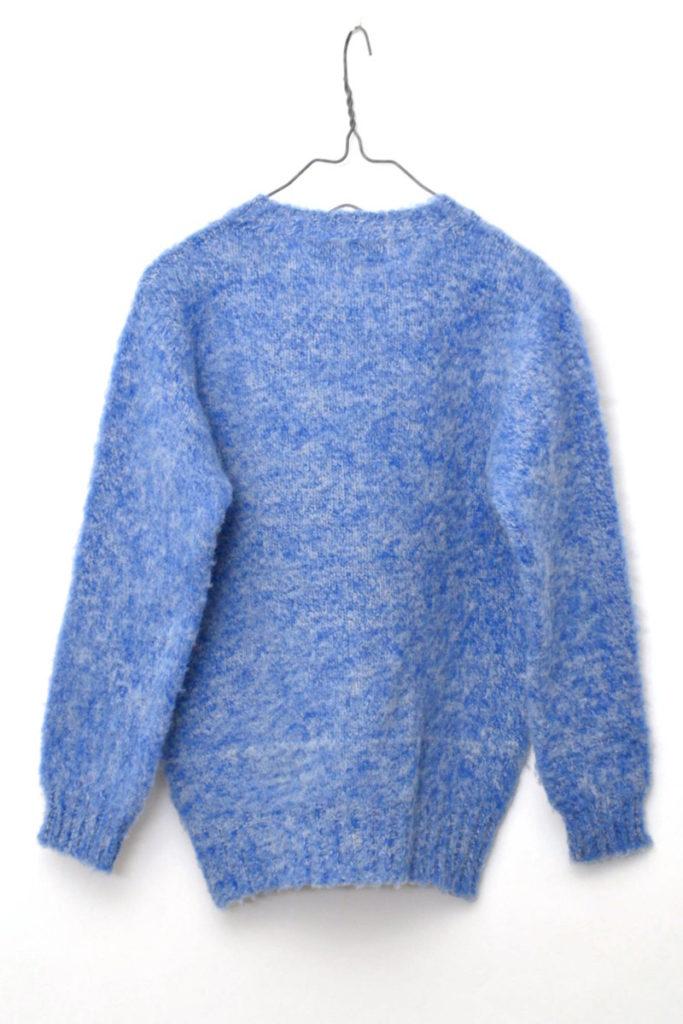 クルーネックプルオーバー シェットランドニット セーターの買取実績画像