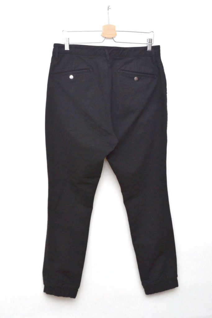 DWELLER EASY RIB PANTS C/P JERSEY STRETCH ストレッチ イージーリブパンツの買取実績画像