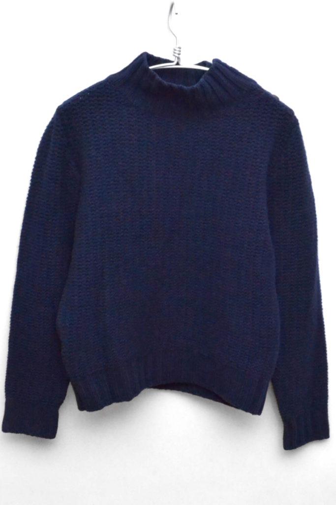 ウール ハイネックニット セーター
