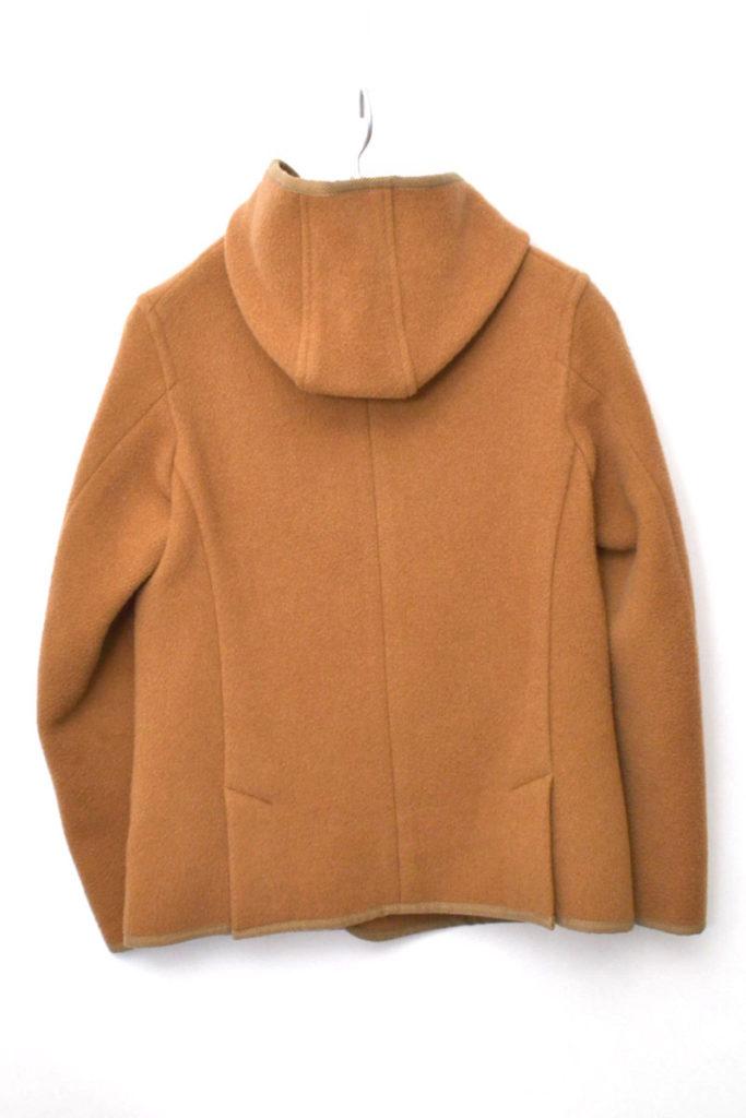ウールモッサ ダブルボタンフード付きジャケットの買取実績画像