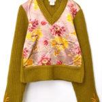 ライカ期 フロント切替 ヘビーリブニットセーター~2002年モデル