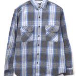 70-80s/ ヘビーネルシャツ