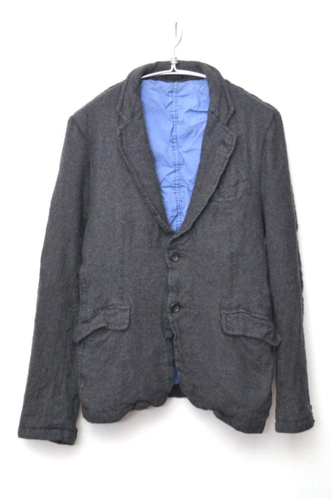 AD2010/ 縮絨ウール テーラードジャケット