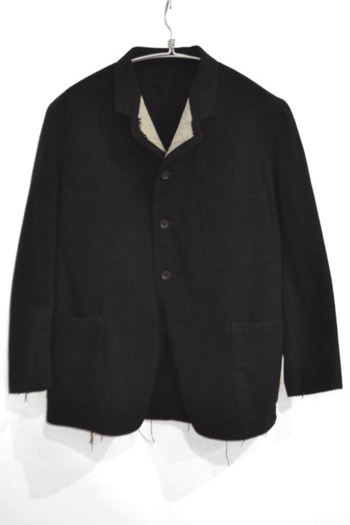 ウール リバーシブル テーラードジャケット