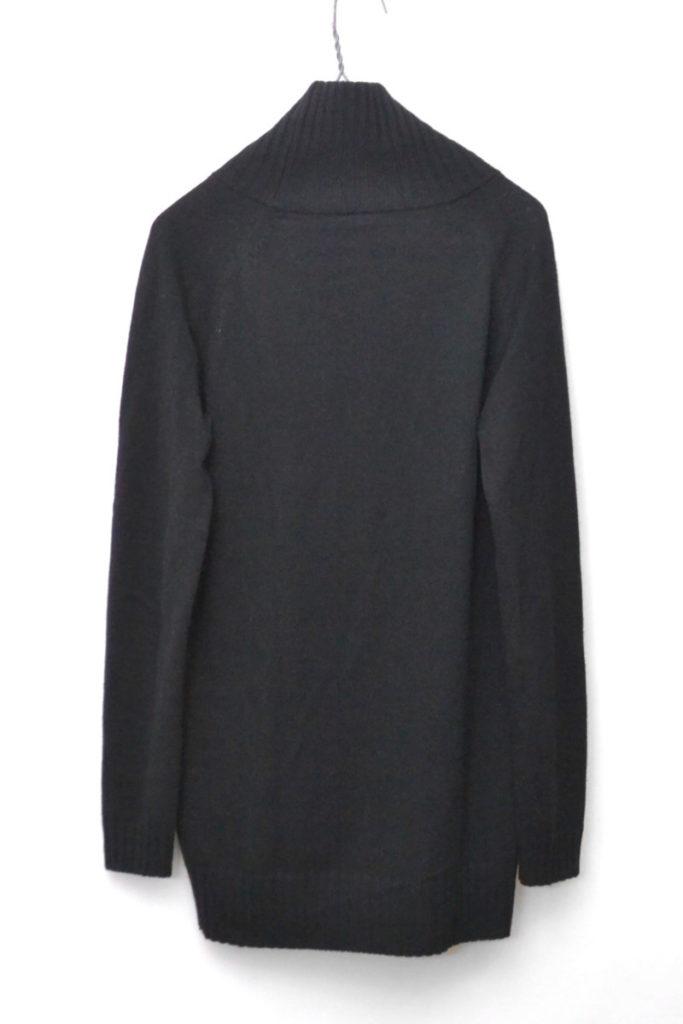 2015AW/ アンゴラ混紡 ドロップテール タートルネックニットセーターの買取実績画像