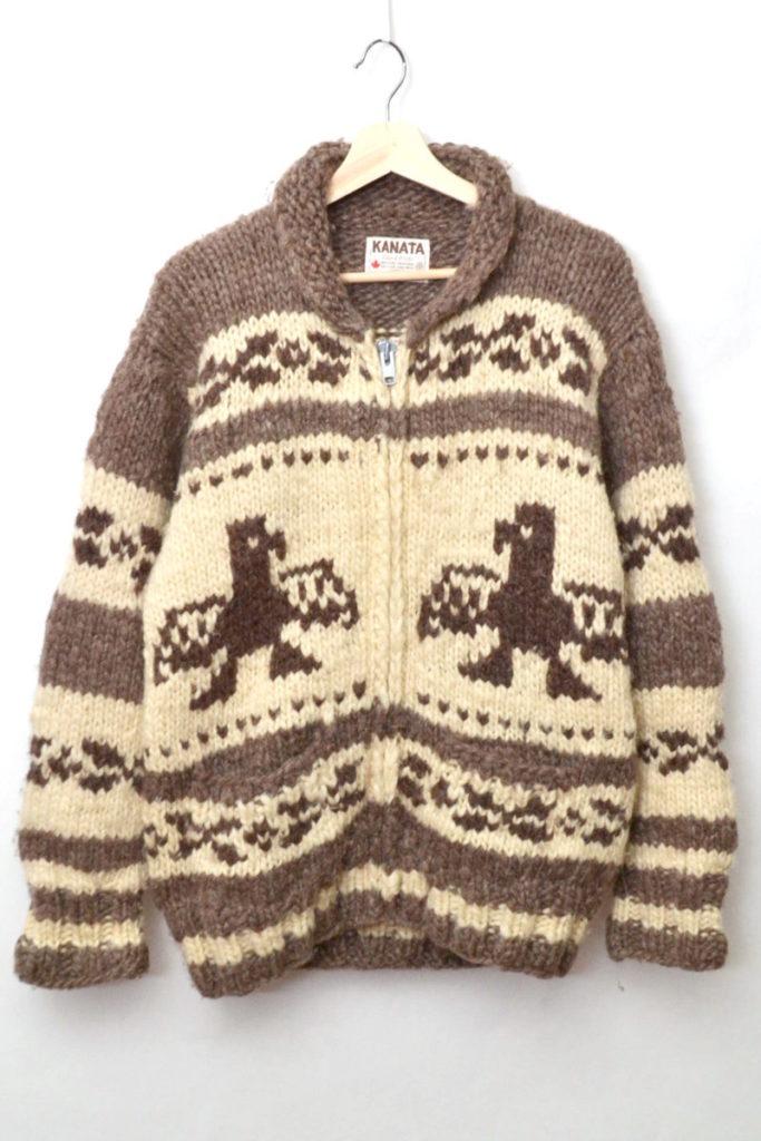 サンダーバード カウンチンニットセーター カーディガンの買取実績画像