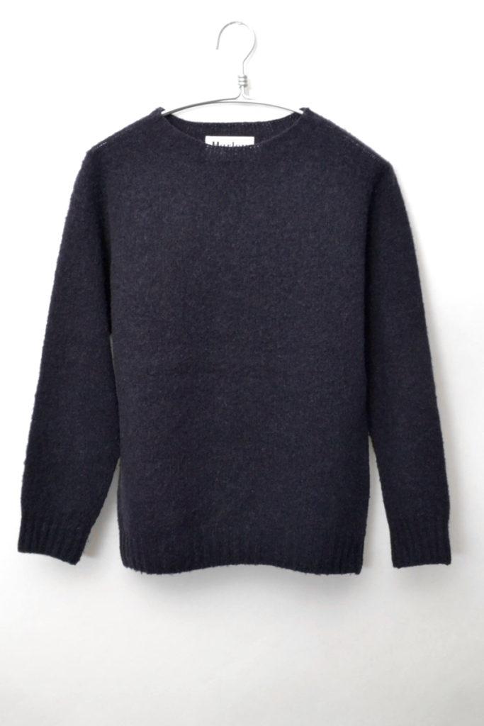 シャギードッグ クルーネックニットセーター