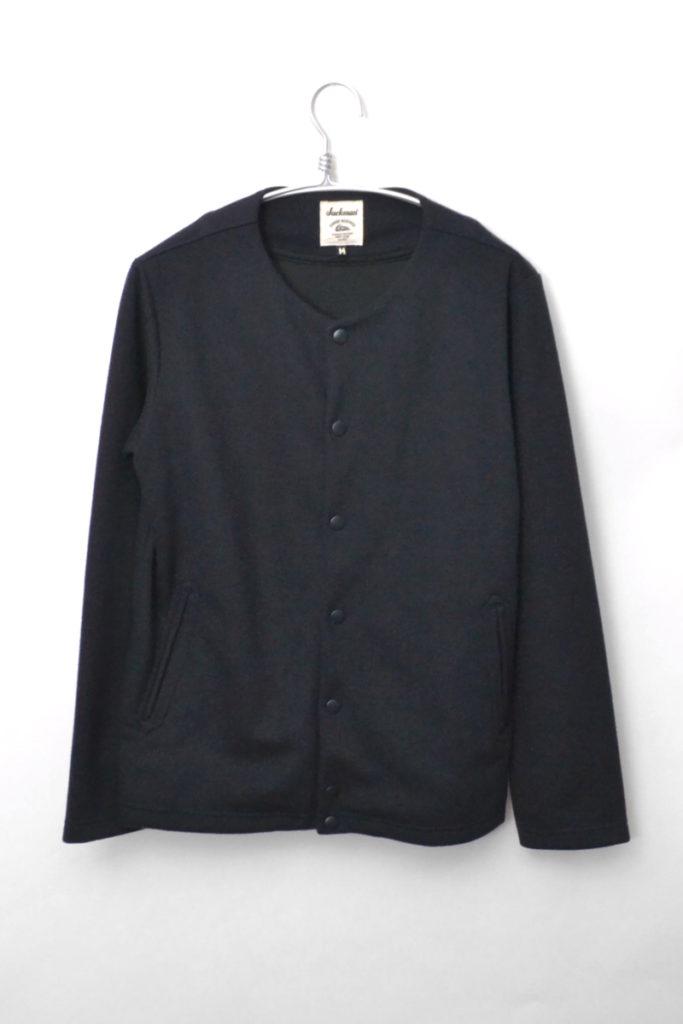 Jersey Collarless Jacket ジャージー カラーレスジャケット