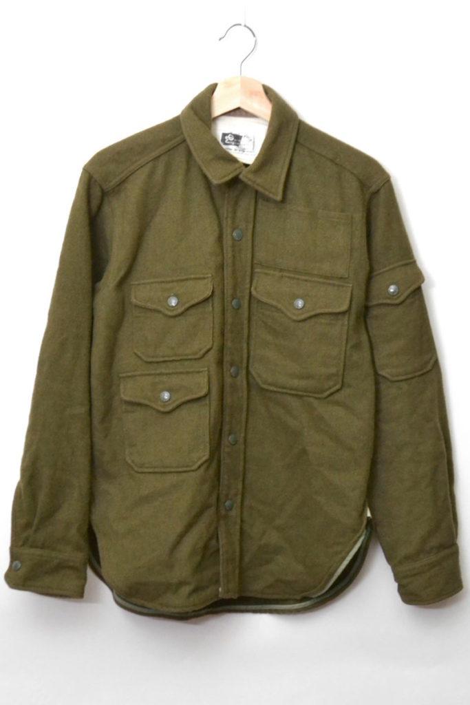 CPO Shirt (20oz Melton) メルトンCPOシャツジャケット