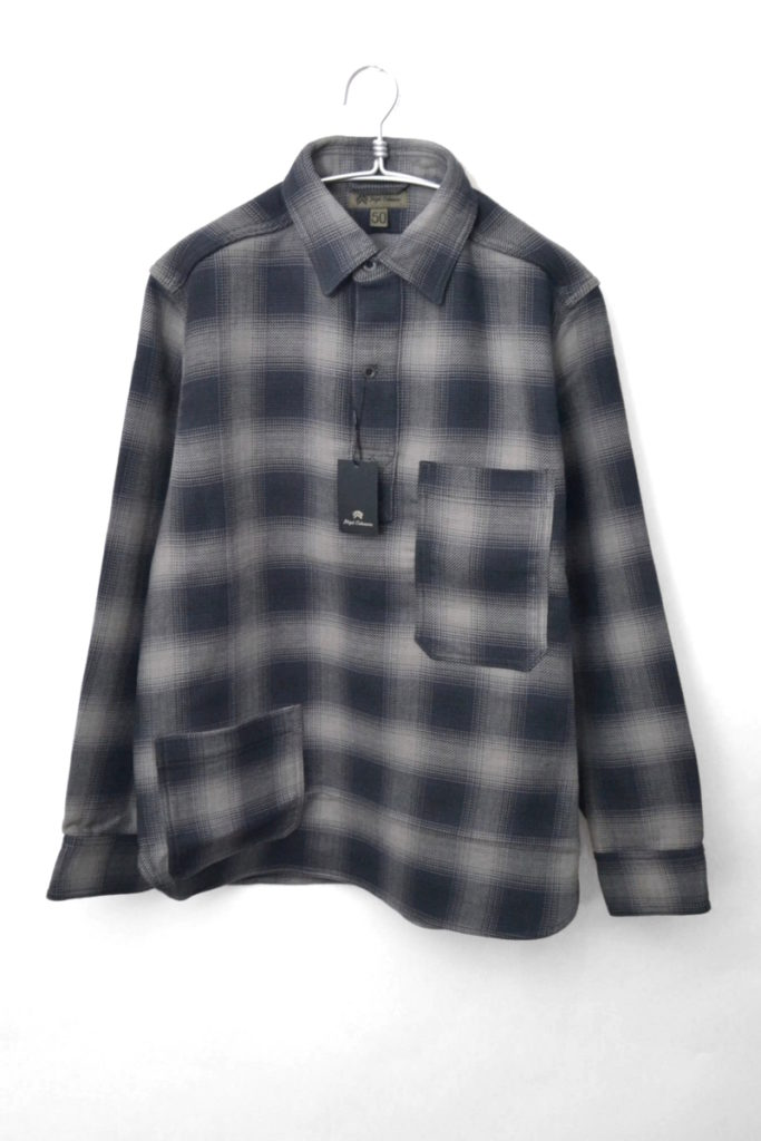 OMBRE CHECK P.O.H SHIRT オンブレチェックPOHシャツ