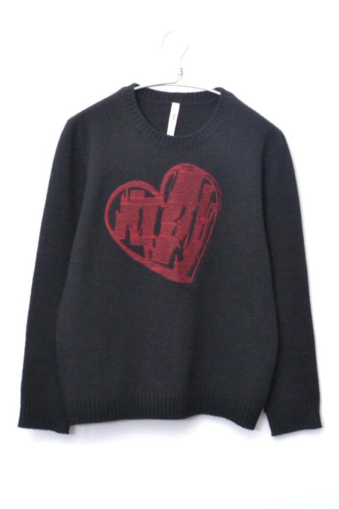 2016AW/ Heart knit ハートニット セーター