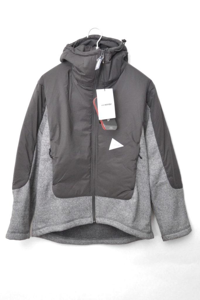 twill fleece jacket ツイルフリースジャケット