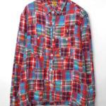 PATCHWORK SHIRT パッチワーク フランネルシャツ