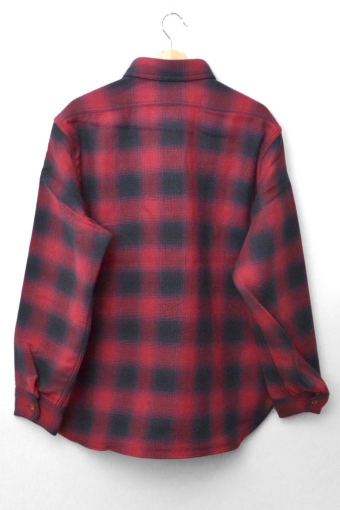 OMBRE CHECK P.O.H. SHIRT オンブレチェック POHシャツの買取実績画像