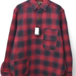 OMBRE CHECK P.O.H. SHIRT オンブレチェック POHシャツ