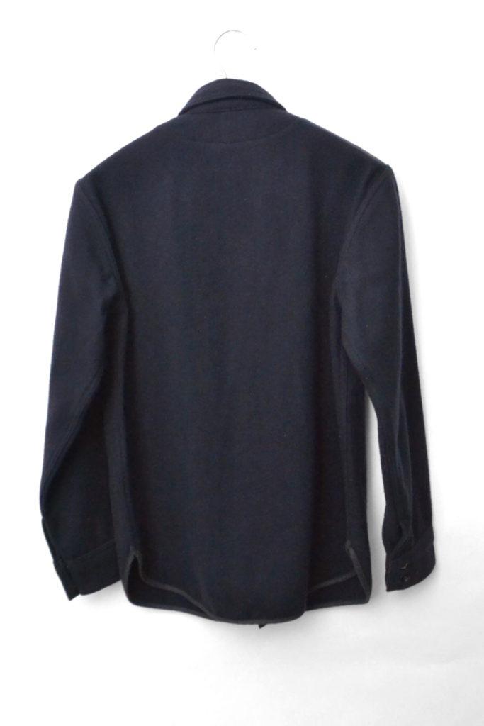 NAVY 2 POCKET(CPO MELTON) メルトンウール CPOシャツ ジャケットの買取実績画像
