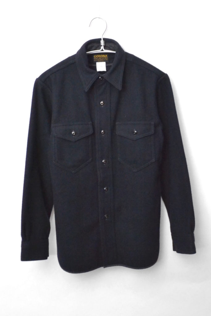 NAVY 2 POCKET(CPO MELTON) メルトンウール CPOシャツ ジャケット