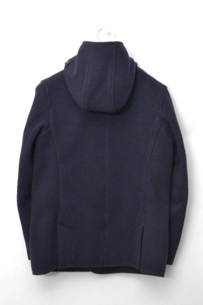 ウールモッサ ダブルボタン フードジャケット コートの買取実績画像