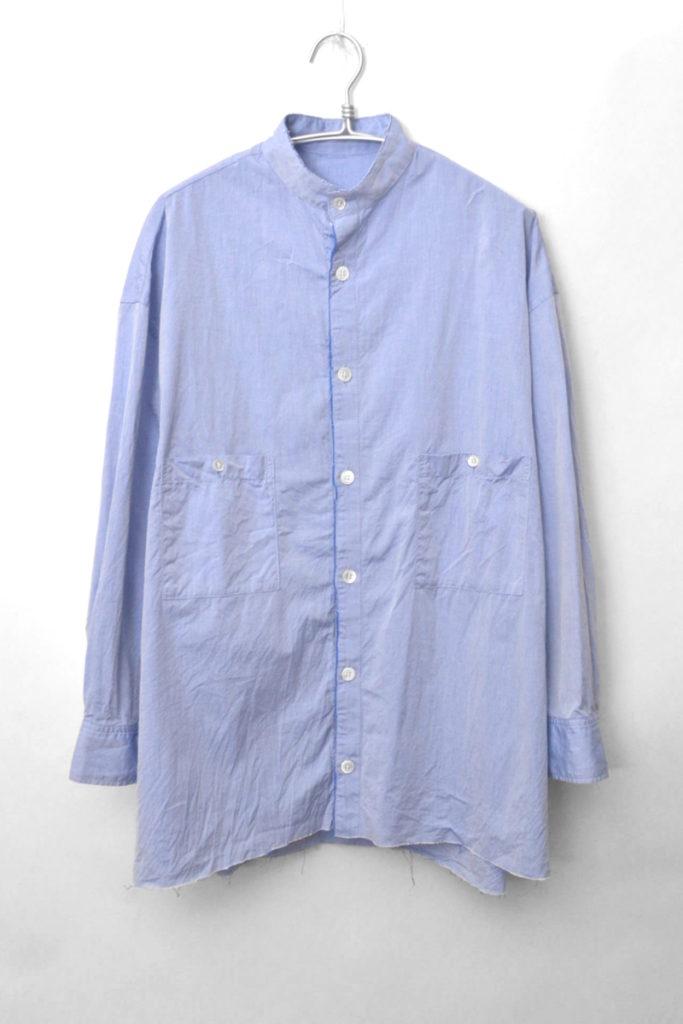 2018AW/ サンプル品 カットオフカラーシャツ