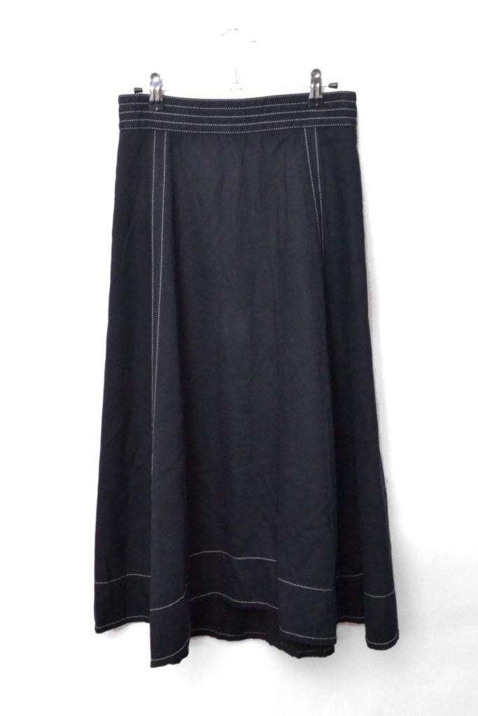 2018AW/ ランダムヘムステッチスカート