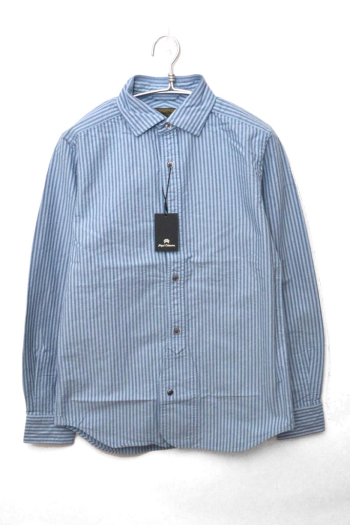 BRITISH OFFICERS SHIRT STRIPE オフィサーズシャツ