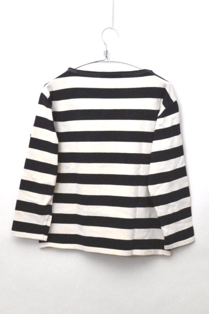 OUESSANT WIDEBORDER ウエッソン ワイドボーダー ボートネックバスクシャツの買取実績画像