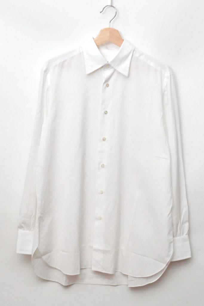 ハンドメイド ストライプ シャツ