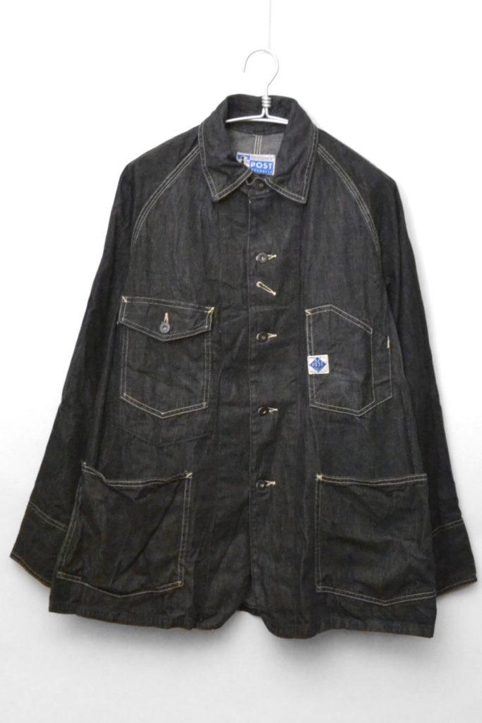 #1102 ENGINEER'S JACKET ブラックデニム カバーオールジャケット エンジニアジャケット