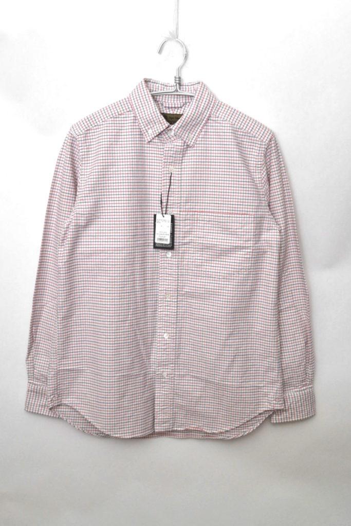 タッターソールチェック オックスフォードBDシャツ