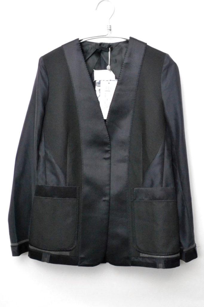 2005SS/シルク切替 ノーカラージャケット
