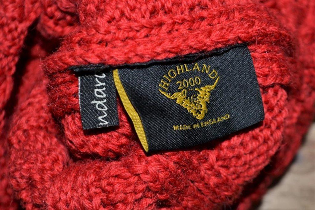 BRITISH WATCH – WOOL ケーブル編み ニットキャップ ワッチキャップの買取実績画像