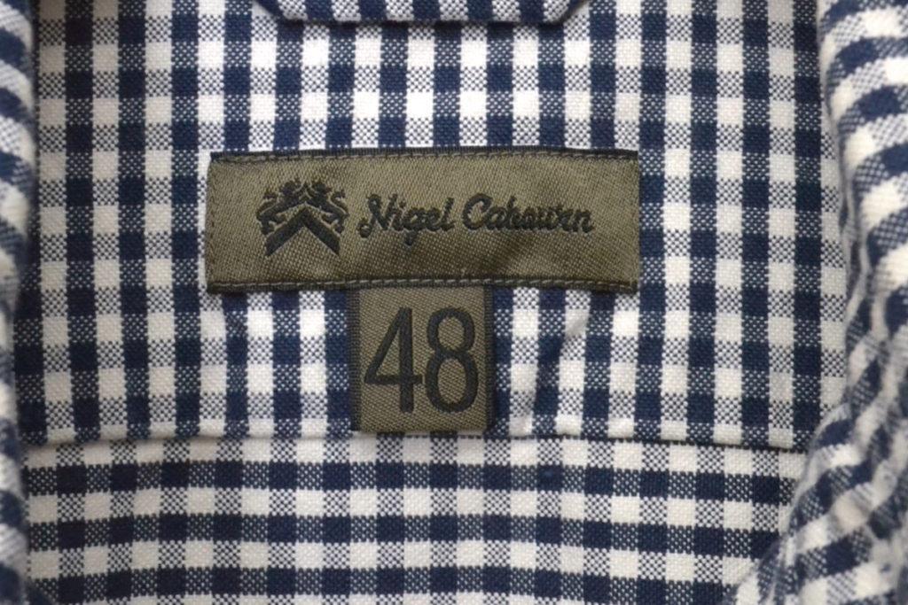 ギンガムチェック オックスブリティッシュオフィサーズシャツの買取実績画像