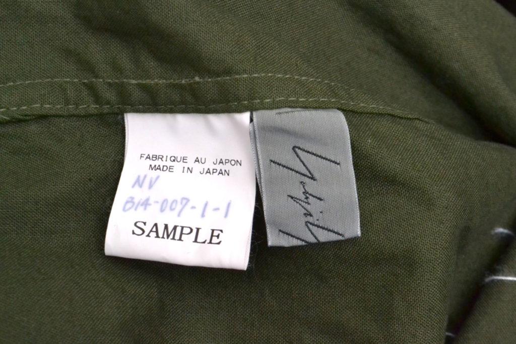 2018AW/フロントステッチ ロングシャツ サンプル品の買取実績画像