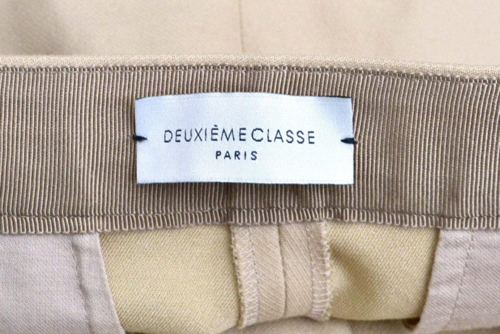 2016/ Double Cloth パンツ センタープレス チノパンツの買取実績画像