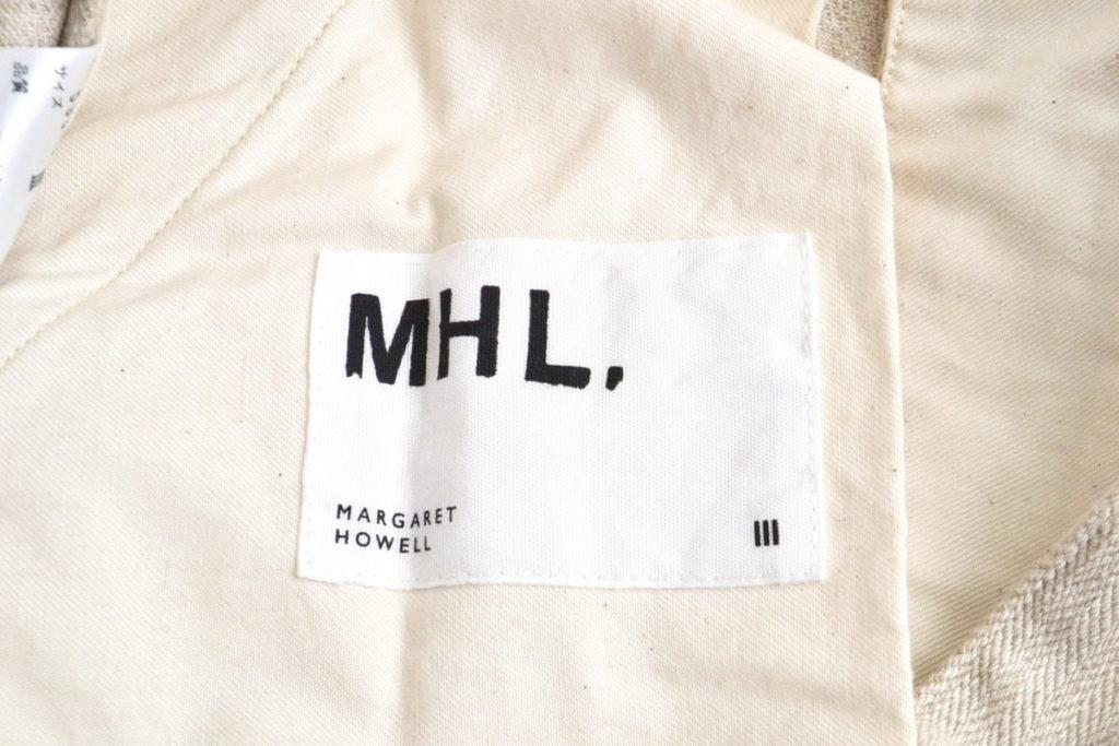 2018SS/ COTTON LINEN HERRINGBONE コットンリネンヘリンボーン スカートの買取実績画像