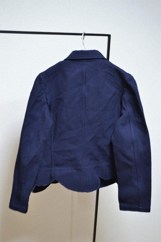 ボンディング加工スカラップテーラードジャケットの買取実績画像