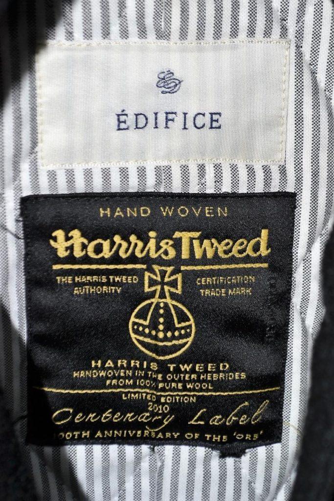HARRIS TWEED ハリスツイード 100周年 ツイード キルティング スタジャンの買取実績画像
