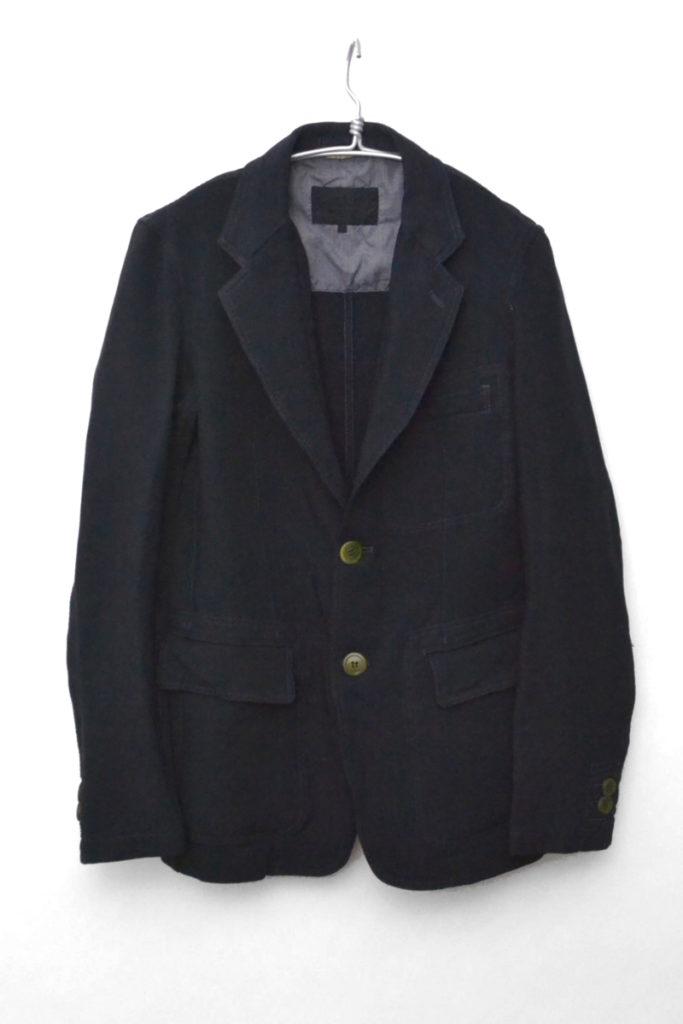 AD2013/ ポリ縮絨テーラードジャケット